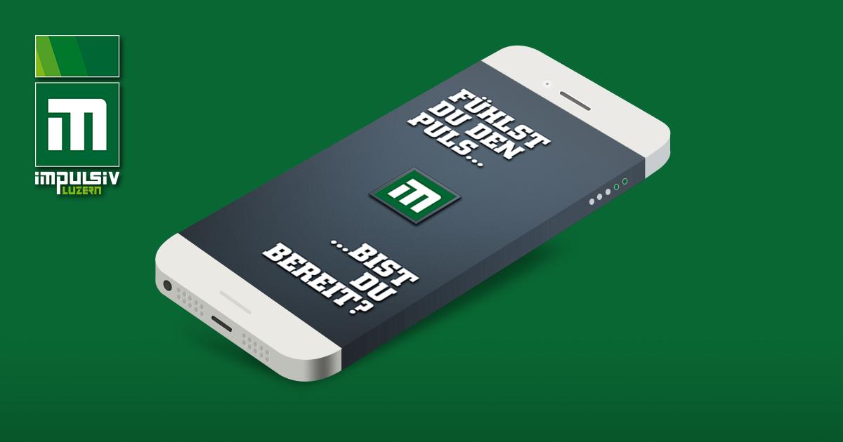 Smartphone App impulsiv Luzern